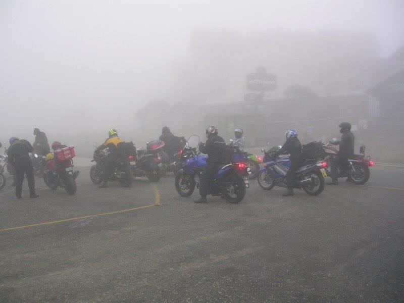 We all found visibility an issue atop Hotham in 2006