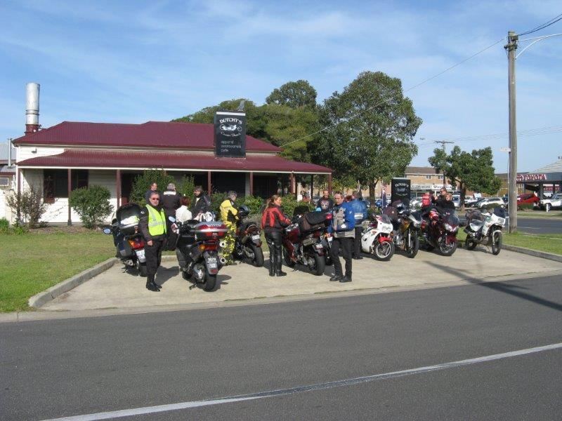 In 2009 our morning tea stop was in Sale