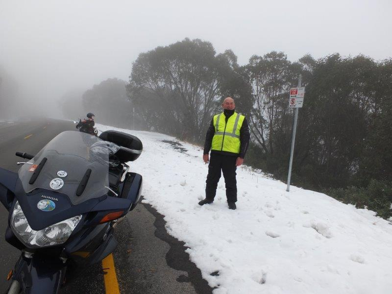 This was just a couple of kilometres above Howmans Gap at Falls Creek
