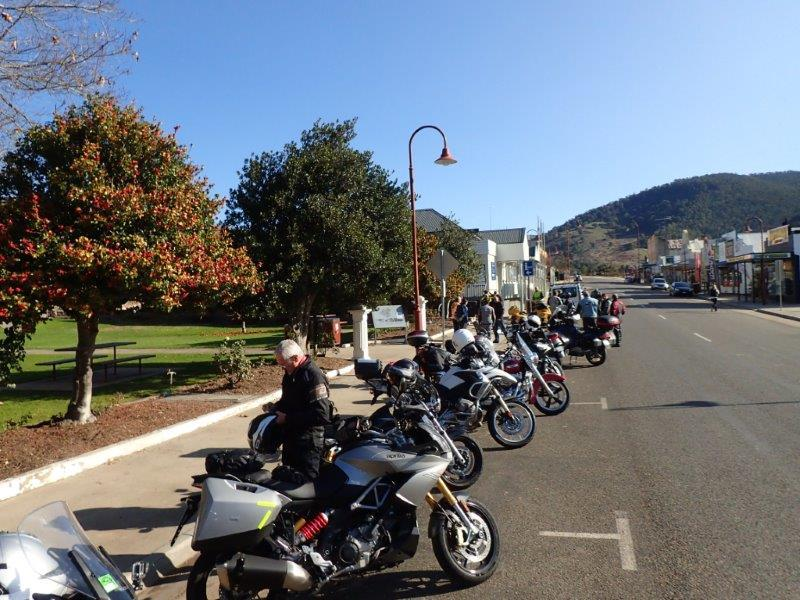Sunny rest stop in Omeo 2015