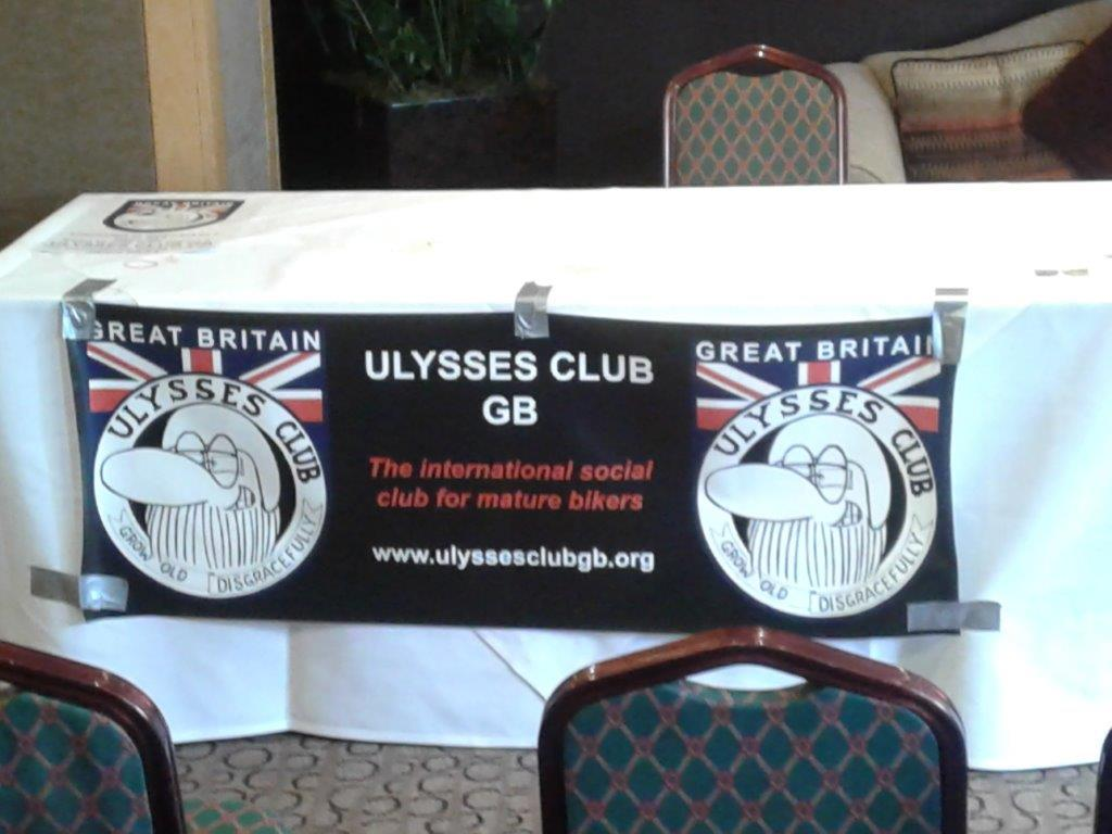 Ulysses GB also held their AGM during the weekend