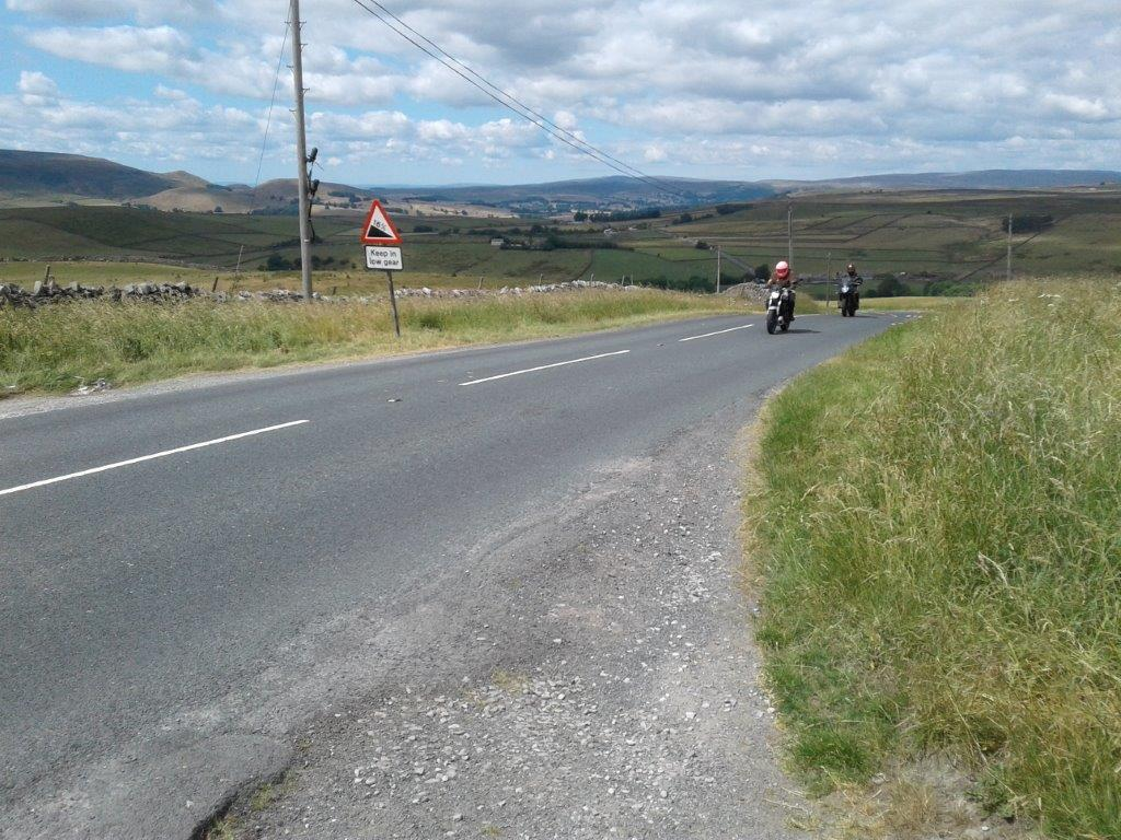 Riding the Yorkshire dales