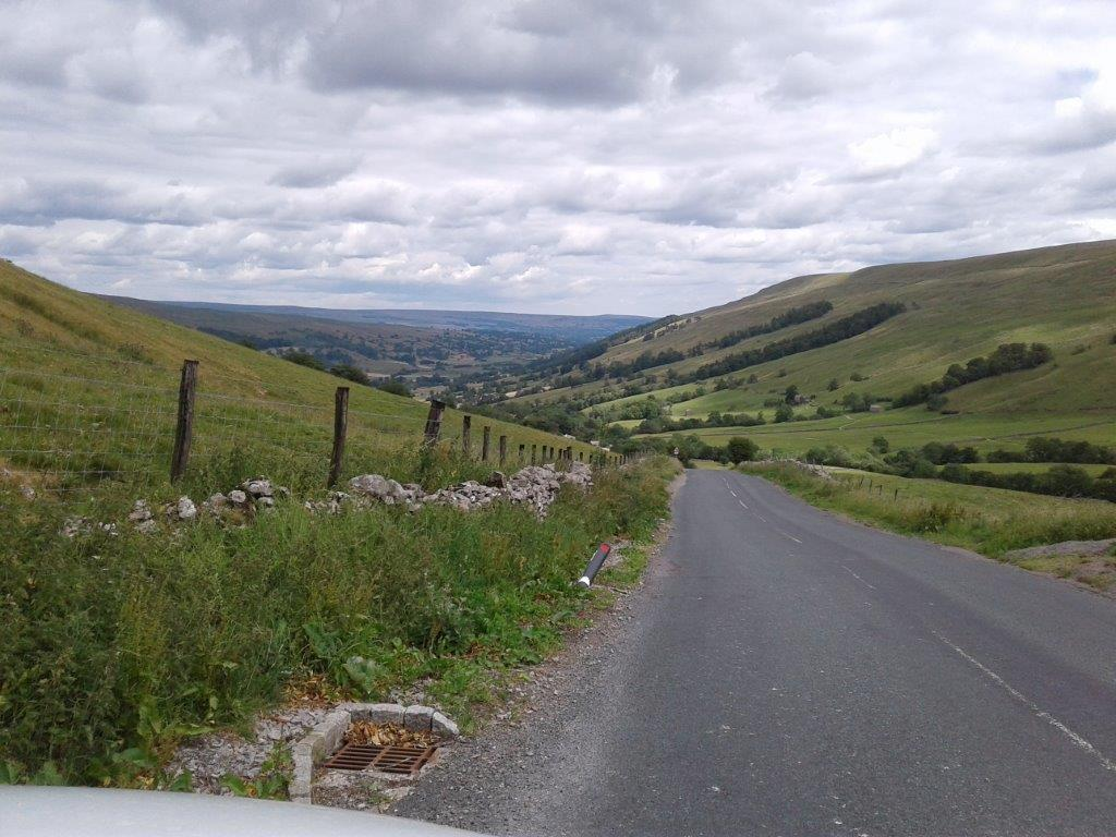 Yet another road which made me wish I was on the bike