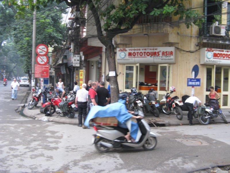 Hanoi starting point