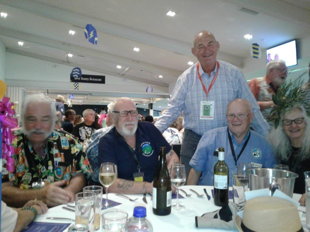Graham, Andy Luck, Stevie and I were all fortunate enough to also met up for the international at Yorkshire Englsnd last July so that was cool to meet up again on the opposite side of the world