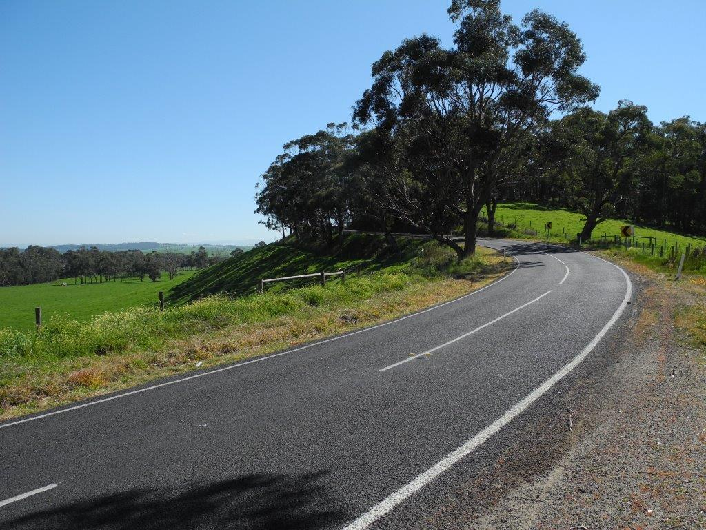 Those green Gippsland hills and roads really were at their best