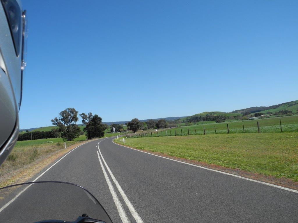 Heading towards Flowerdale