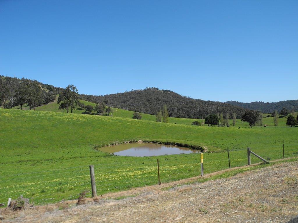 Green fields after Break O Day