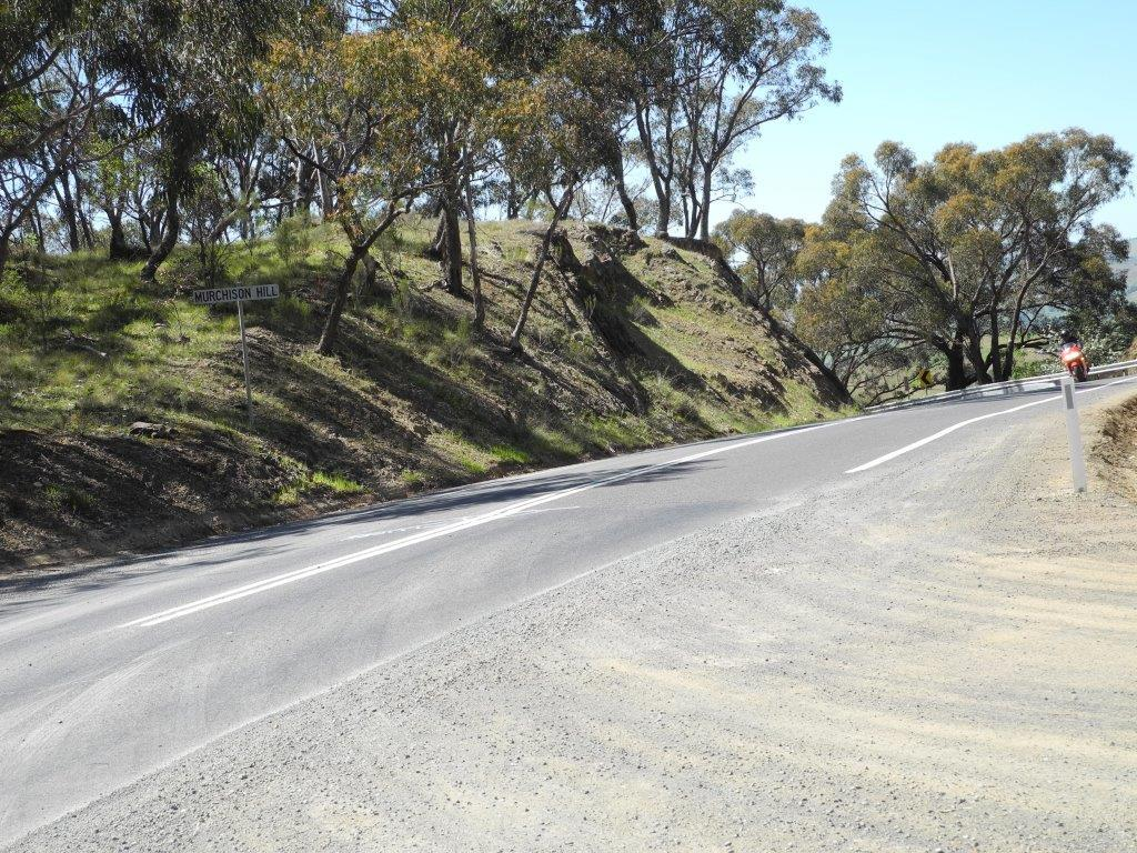 Arriving at the lookout atop Murchison Gap