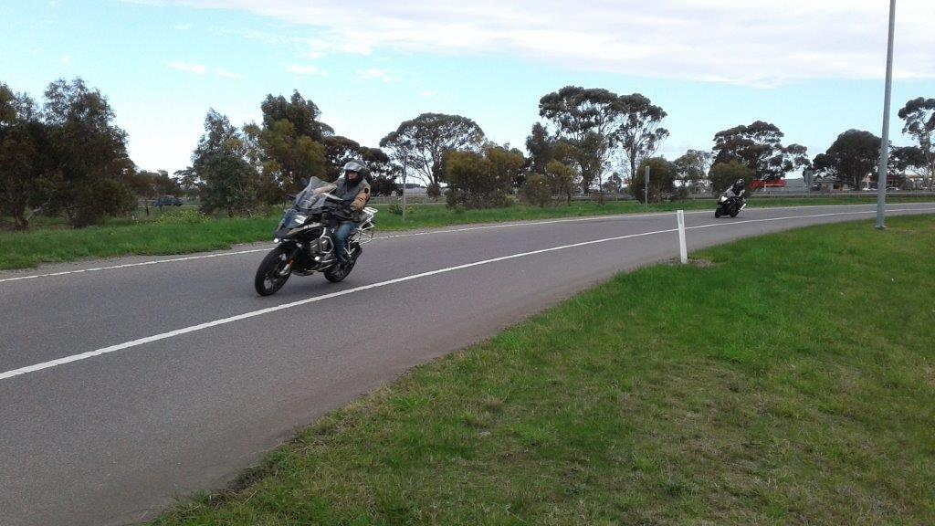 Your photographer on the Busa