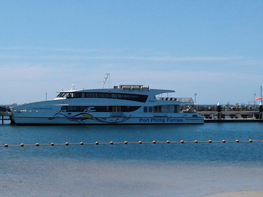 This ferry was from Melbourne and is not the one to Sorrento